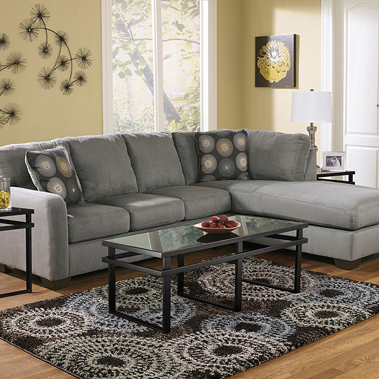 Signature Design By Ashley 174 Zella 2 Piece Sectional Jcpenney