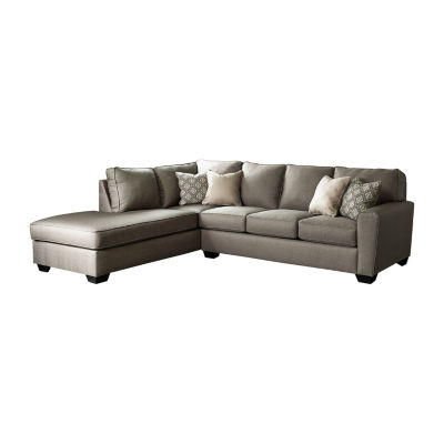 Signature Design by Ashley® Calicho 2-Pc Sectional with LAF Chaise