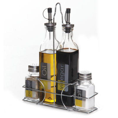 Gibson 9 pc Condiment Set