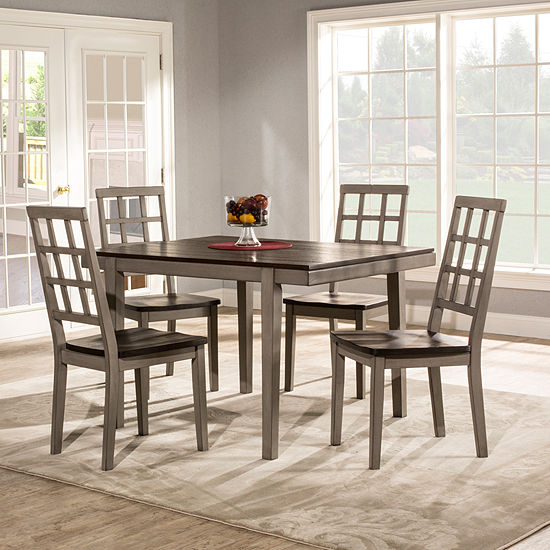 Hillsdale House Garden Park 5-pc. Square Dining Set