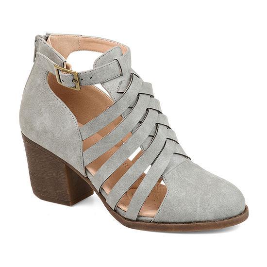 Journee Collection Womens Isadore Booties Block Heel