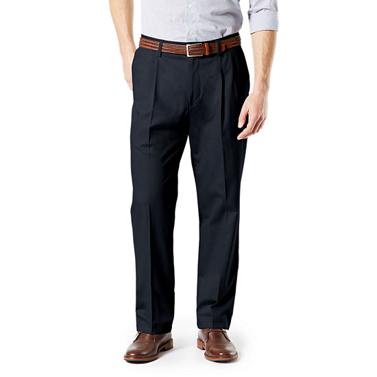 Dockers® Big & Tall Classic Fit Signature Khaki Lux Cotton Stretch Pleated Pants