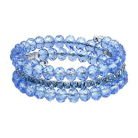 1928 Beaded Bracelet, One Size , Blue