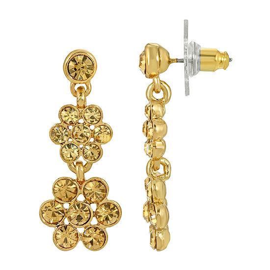 1928 Abalone Drop Earrings