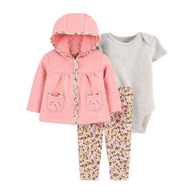 Carter's Baby Girls 3-pc. Baby Clothing Set
