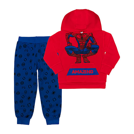 Disney Toddler Boys Spiderman 2-pc. Pant Set