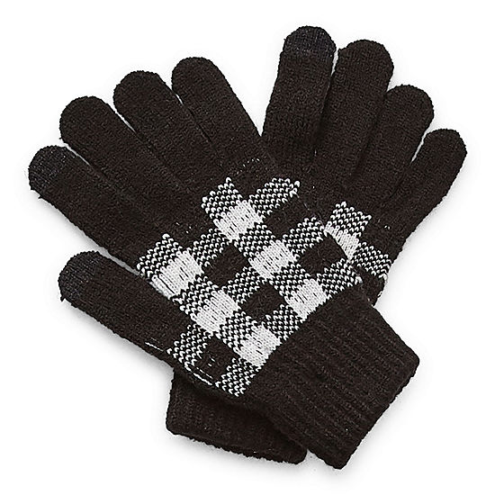 Mixit Plaid Cold Weather Gloves