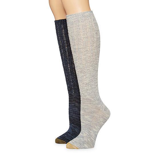 Gold Toe 2 Pair Boot Socks Womens