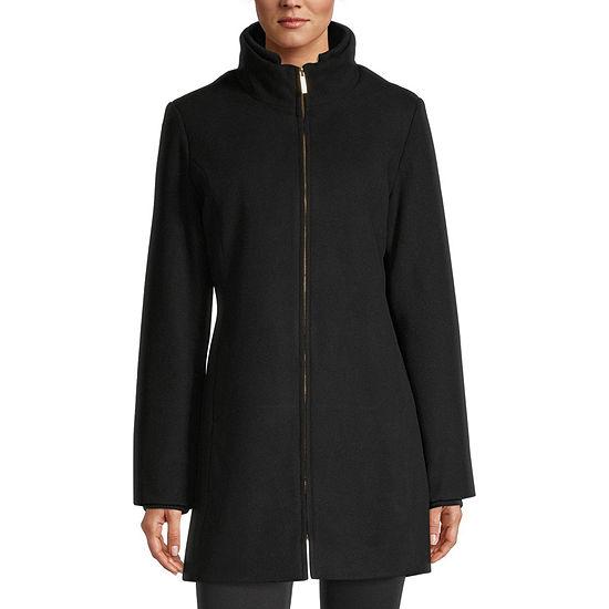 Details Knit Heavyweight Overcoat