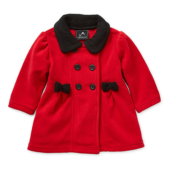 Weatherproof Baby Girls Fleece Midweight Jacket