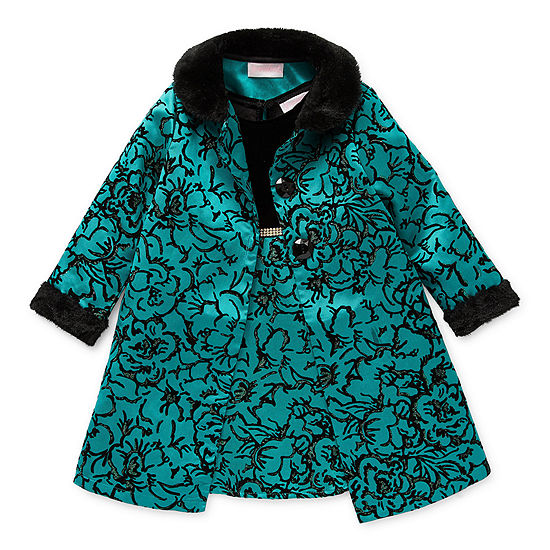 Youngland Toddler Girls 2-pc. Jacket Dress