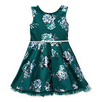 Knit Works Big Girls Sleeveless Skater Dress
