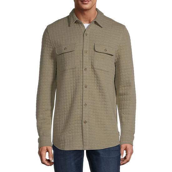 St. John's Bay Outdoor Quilted Lightweight Shirt Jacket