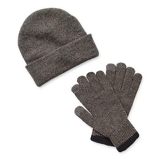St. John's Bay Beanie and Glove Set