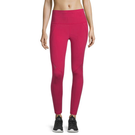 Xersion Move Womens High Rise 7/8 Ankle Leggings, Large , Pink
