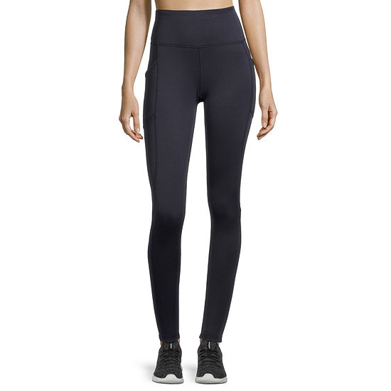 Xersion Womens High Rise Full Length Fleece Lined Leggings