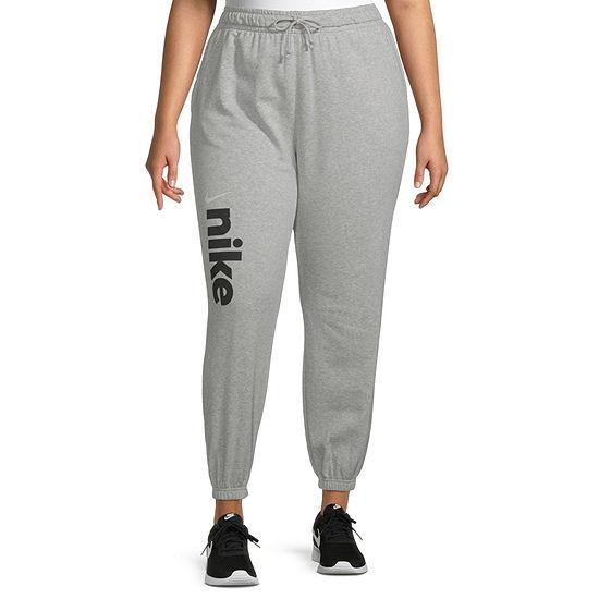 Nike Womens Mid Rise Plus Jogger Pant