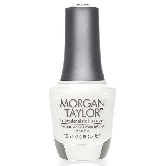 Morgan Taylor™ All White Now Nail Polish - .5 oz.