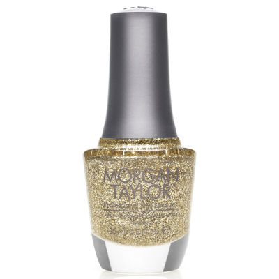 Morgan Taylor™ Glitter & Gold Nail Polish - .5 oz.