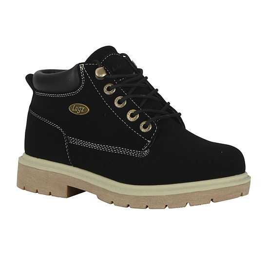 Lugz Womens Drifter Lx Lace Up Water Resistant Work Boots Flat Heel
