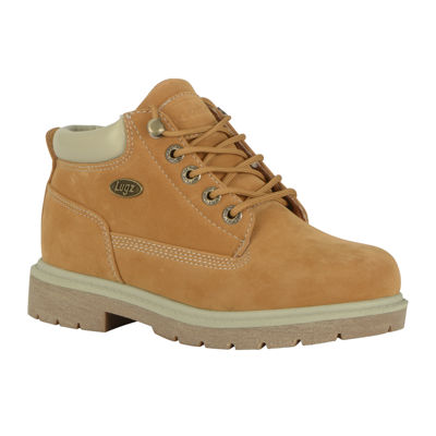 Lugz Womens Work Boots Lace Up Water Resistant