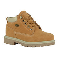 Deals on Lugz Womens Lace Up Water Resistant Work Boots