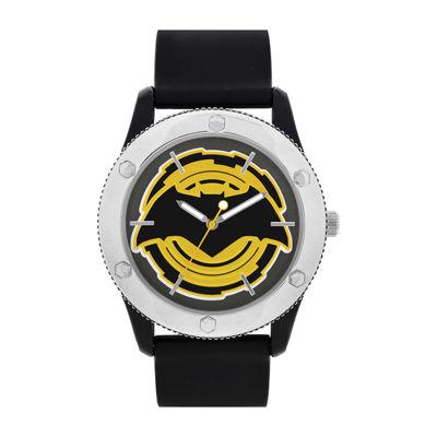 DC CoMensics® Mens Batman Black Strap WatchesDC Comics® Mens Batman Black Strap Watch