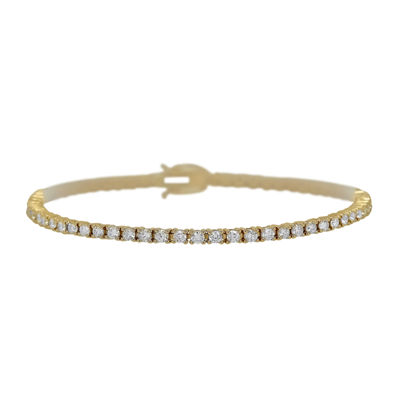 LIMITED QUANTITIES 3 CT. T.W. Diamond 14K Yellow Gold Bracelet