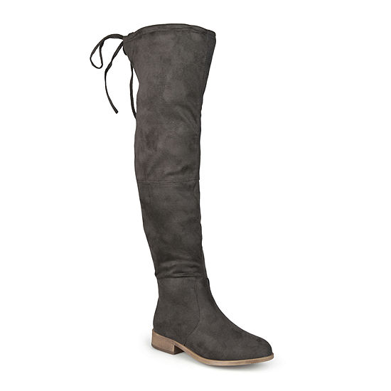 Journee Collection Womens Mount Over-the-Knee Boots