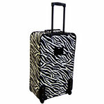 American Flyer Animal Print 5PC Luggage Set