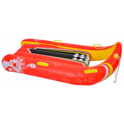 Blue Wave Sports Power Glider 57-In 2-Person Inflatable Snow Sled