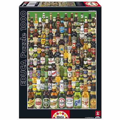 Educa Beers Jigsaw Puzzle: 1000 Pcs