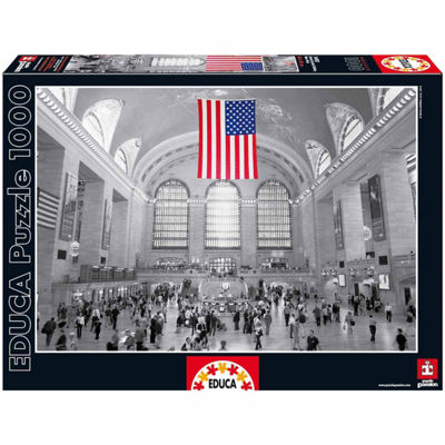 Educa® 1000-Pc. Grand Central Station Puzzle