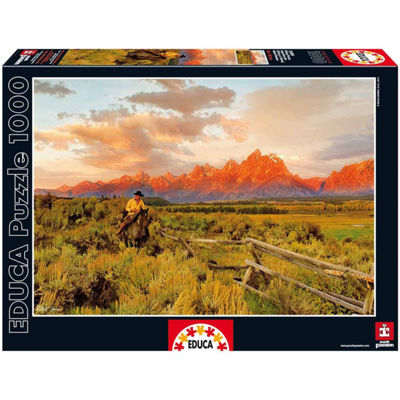 Educa® 1000-Pc. Riding Fences Puzzle