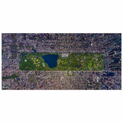 Educa 3000-pc. Panorama - Central Park, New York Jigsaw Puzzle