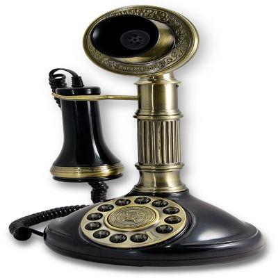 Paramount Roman Column 1897 Candlestick Reproduction Phone