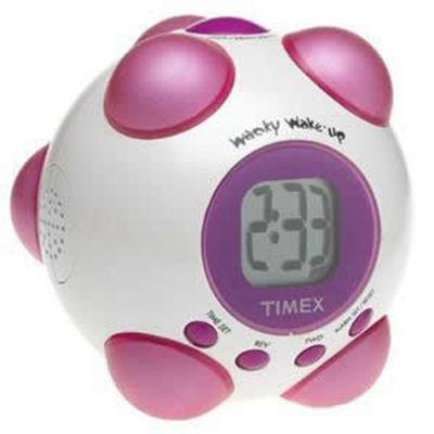 Timex T156WP Wacky Phrases Shake 'n Wake Alarm Clock