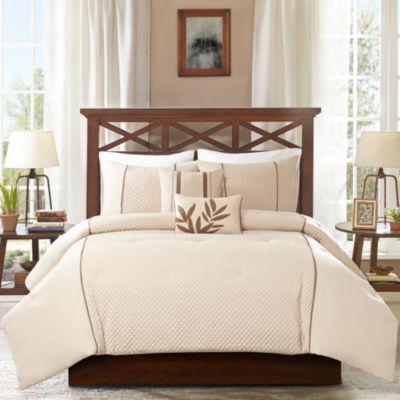Madison park marilyn 5 pc comforter set jcpenney for Baltic linen maison 8 pc comforter set