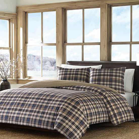 Eddie Bauer Reversible Port Gamble Comforter Set