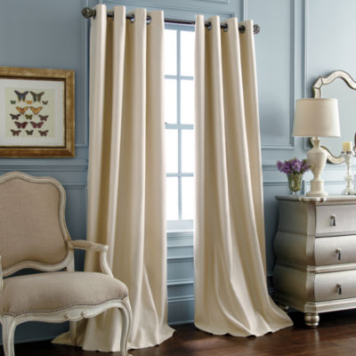 Royal Velvet Supreme Blackout Grommet-Top Curtain Panel