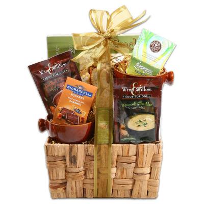 Soups On Gift Basket
