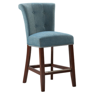 Madison Park Tufted Counter Stool