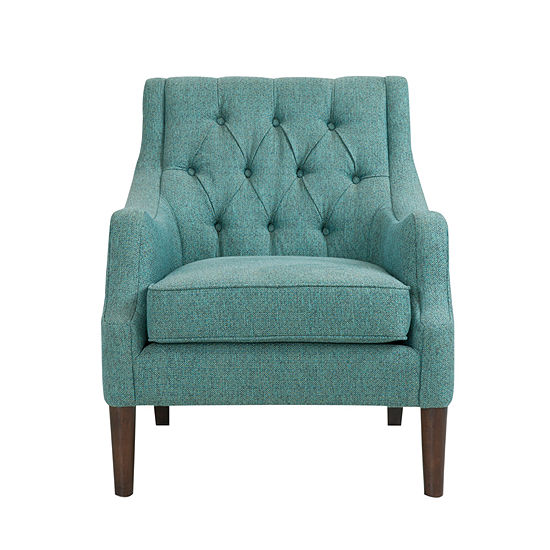 Madison Park Elle Button Tufted Club Chair