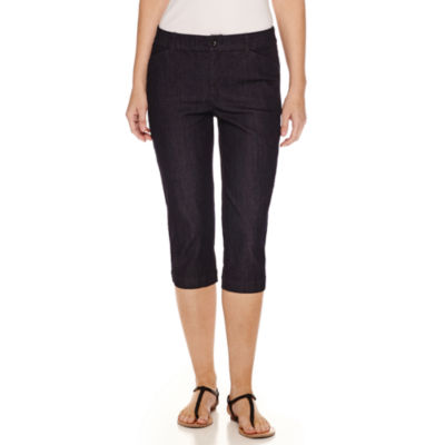 "St. John's Bay® Secretly Slender 19"" Capris"