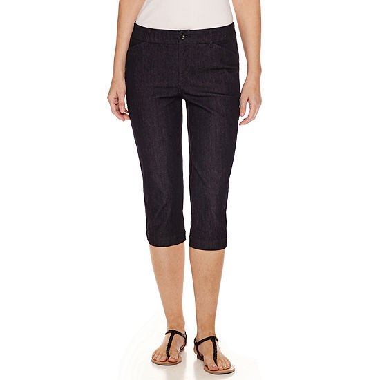470b0874b77 St Johns Bay Secretly Slender Capris JCPenney