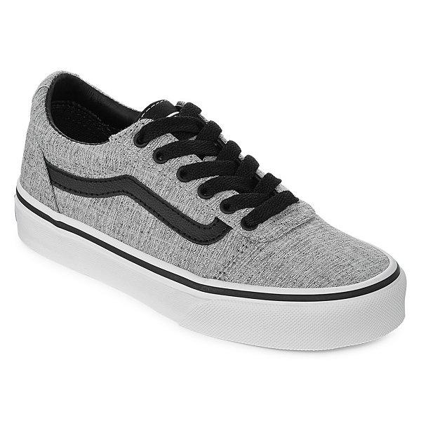 2fdce89dc0cb3b Vans Ward Boys Skate Shoes - Big Kids-JCPenney