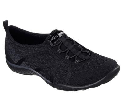 Skechers Fortuneknit Womens Walking Shoes Slip-on