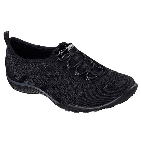 Skechers Fortuneknit Womens Walking Shoes Slip-on