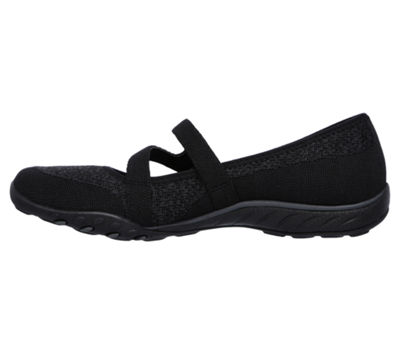 Skechers Breathe-Easy Womens Walking Shoes Elastic