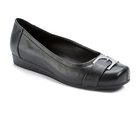 Wearever Shoes Womens Inda Slip-On Shoe Square Toe